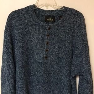 Redhead Mid-button Sweater